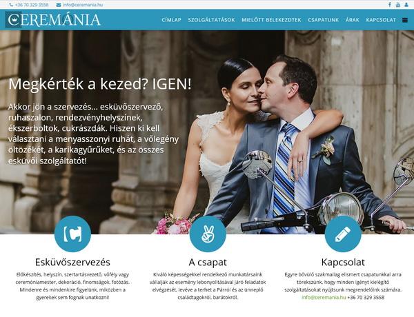 """Ceremánia <a href=""""http://ceremania.hu"""" target=""""_blank"""">ceremania.hu</a>"""